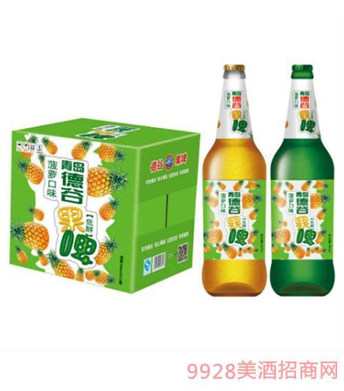 德谷菠萝果啤500mlX12瓶