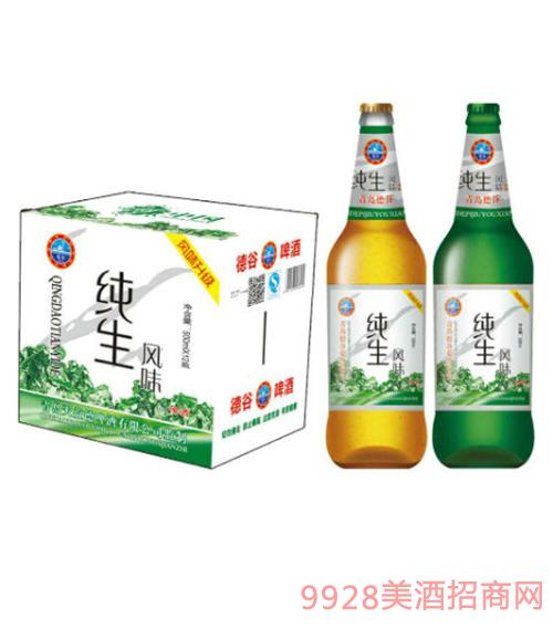 德谷纯生啤酒500mlX12瓶