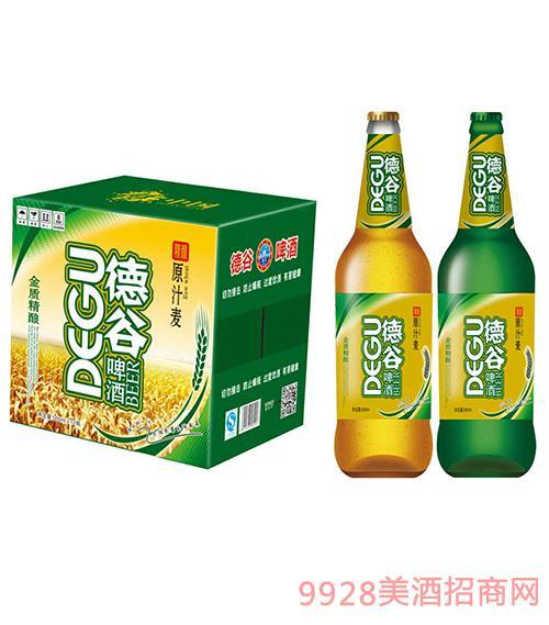 德谷原麦汁啤酒500mlX12瓶