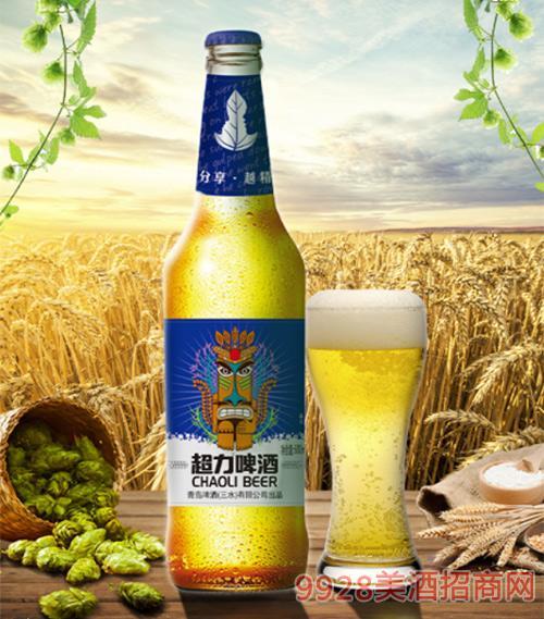 超力啤酒600ml夸父版
