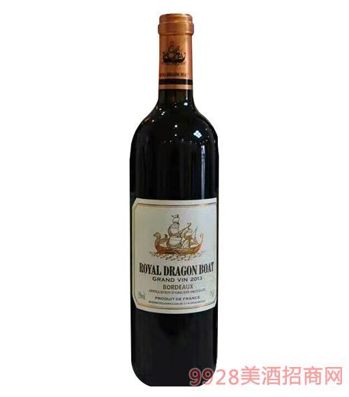御皇龙船干红葡萄酒750ml