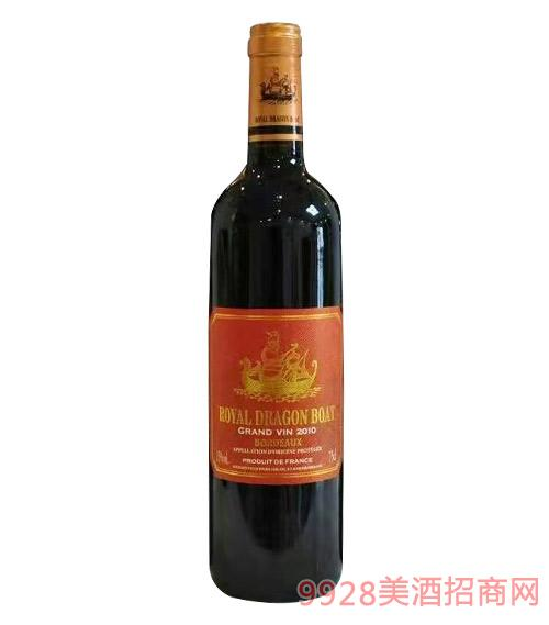 御皇龙船干红葡萄酒750ml红标