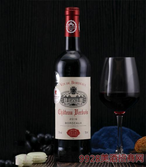 法国波尔多葡萄酒750ml