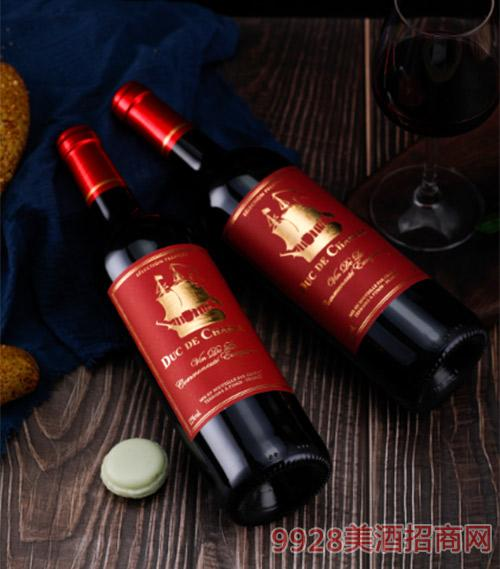 夏尔伯爵干红葡萄酒750ml
