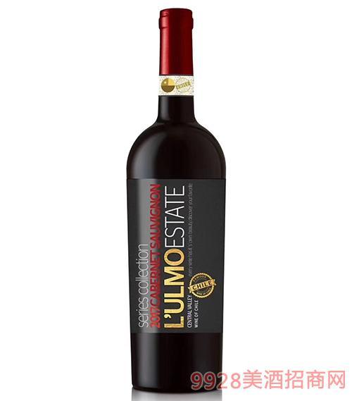 智利�跄ο盗姓溽�赤霞珠葡萄酒
