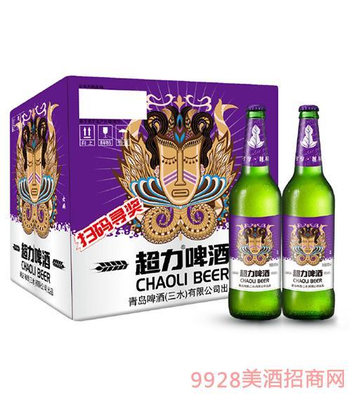超力啤酒女娲版600ml