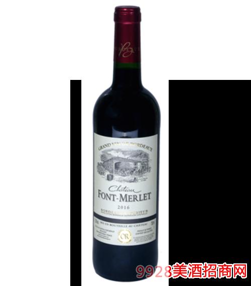 丰特莫利庄园特级红葡萄酒
