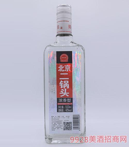 方瓶君有福北京二��^酒42度500ml