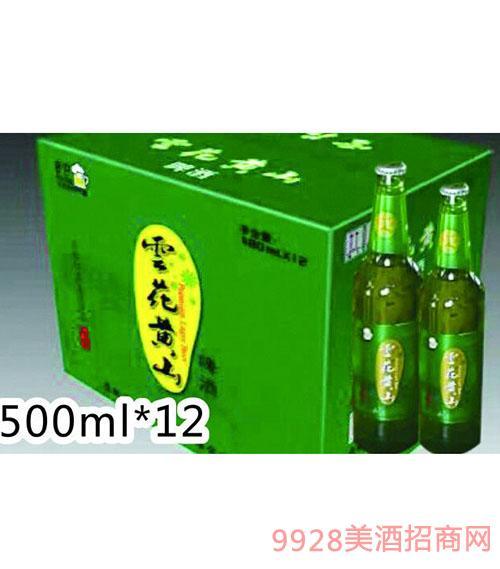 �花�S山清爽500ML瓶�b啤酒