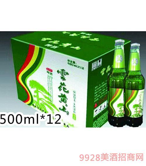 �花�S山清爽500ML�G瓶�b啤酒