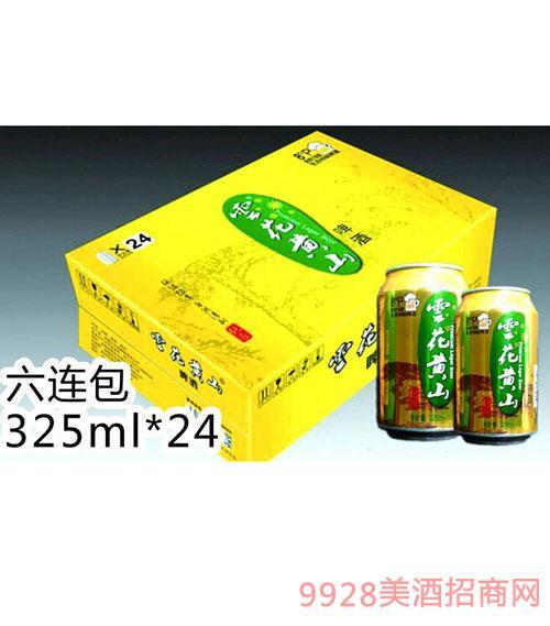 �花�S山�正325ML金罐�箱啤酒