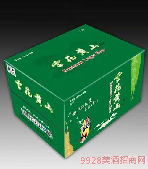 �花�S山500ML易拉罐啤酒