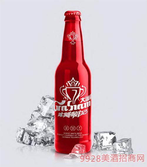 大�M冠啤酒500ml�t瓶