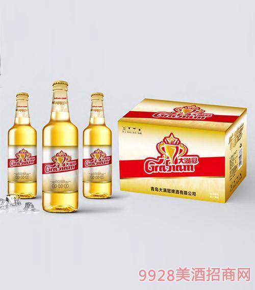 大�M冠啤酒白瓶�b500ml