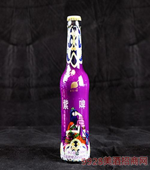 紫啤��咖紫米啤酒