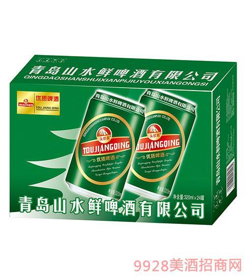 头浆青啤酒优质啤酒320mlx24罐