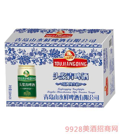 头浆青啤酒320mlx24罐