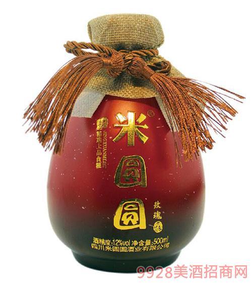 米�A�A米酒玫瑰味12度500ml