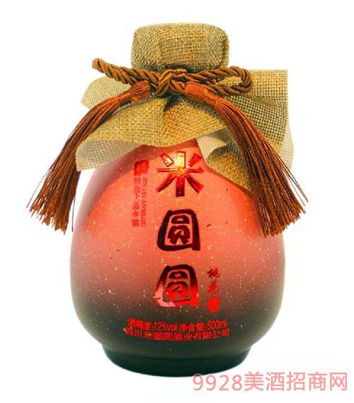 米�A�A米酒桃花味12度500ml