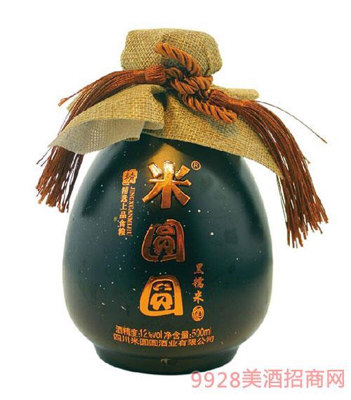 米�A�A米酒黑糯米味12度500ml