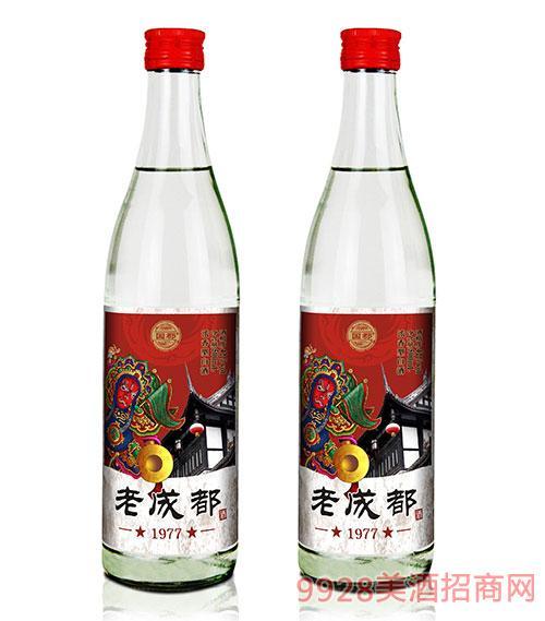 老成都酒瓶�b42度500ml
