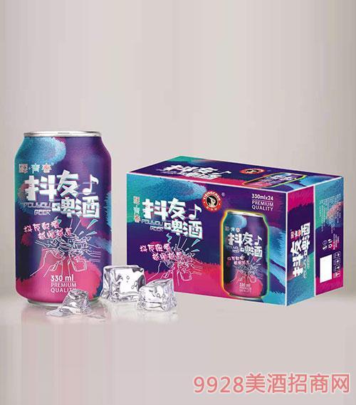驿青春抖友啤酒330mlx24
