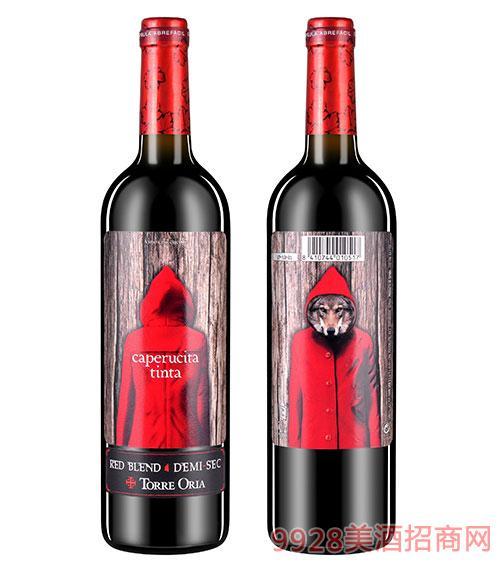 奥兰小红帽红酒