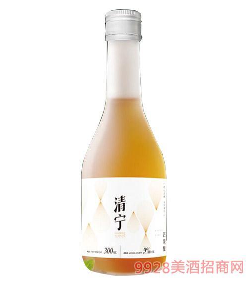 清��酒芒果�9度300ml