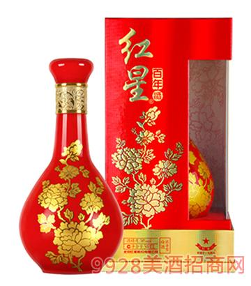 38度�t星酒・�t星百年500ml(牡丹瓶)