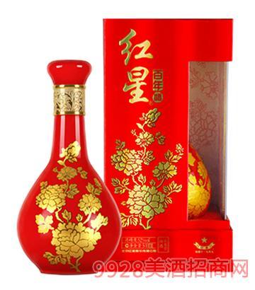 52度�t星酒・�t星百年500ml(牡丹瓶)