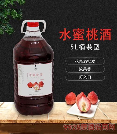 水蜜桃酒5L