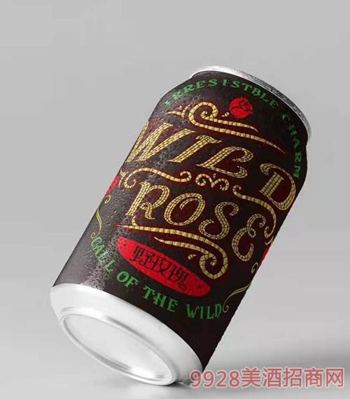 野玫瑰花仙子啤酒易拉罐�b