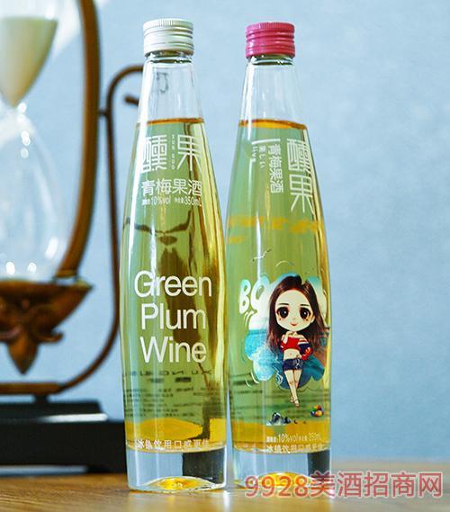 醺果青梅果酒10度350ml
