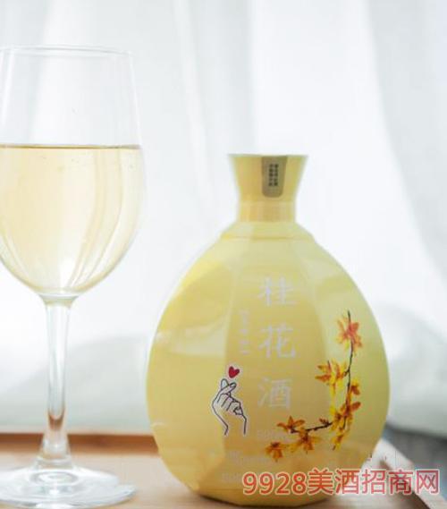 勇��桂花酒