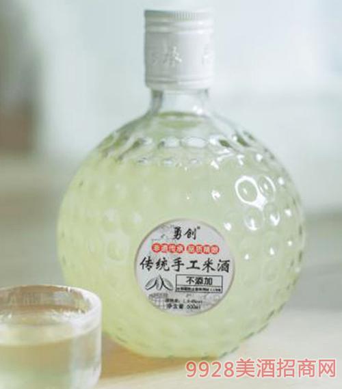 勇���鹘y手工米酒
