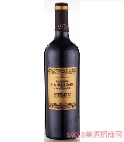 波美度菲�D干�t葡萄酒13.5度750ml
