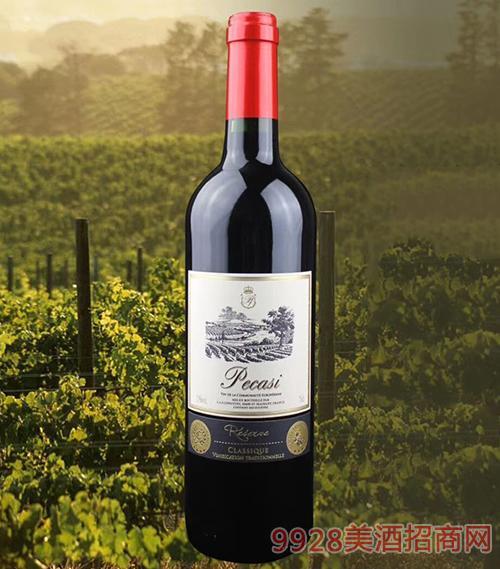 佩威斯干�t葡萄酒13度750ml