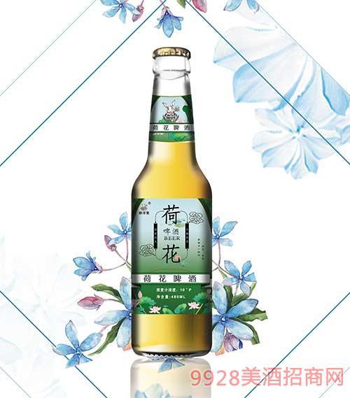 �_牙兔480ml荷花啤酒