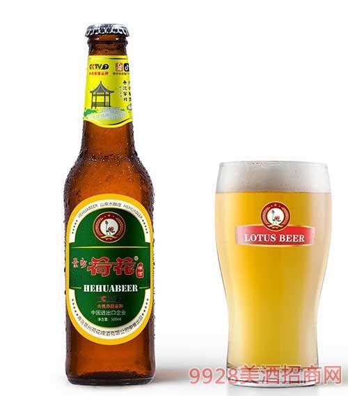 景州荷花啤酒500ml