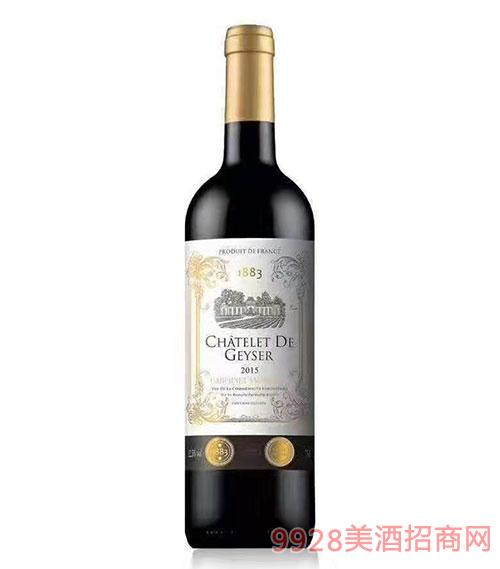�P斯堡1883赤霞珠干�t葡萄酒12.5度