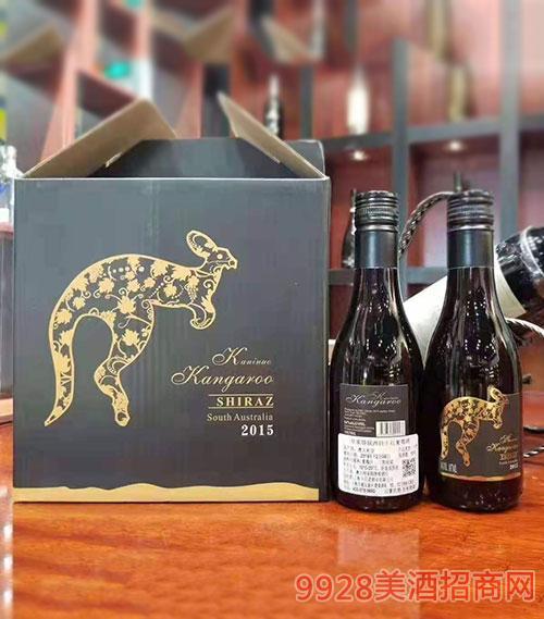 皇家袋鼠西拉干�t葡萄酒2015