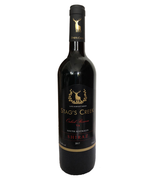 南澳鹿王溪V6设拉子红葡萄酒