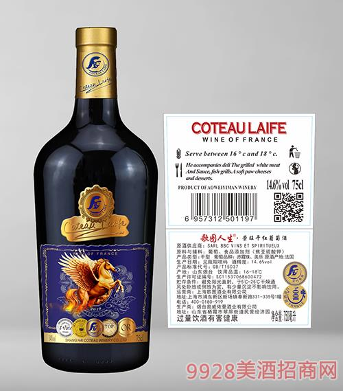 歌�D人生�s旺干�t葡萄酒14.6度750ml