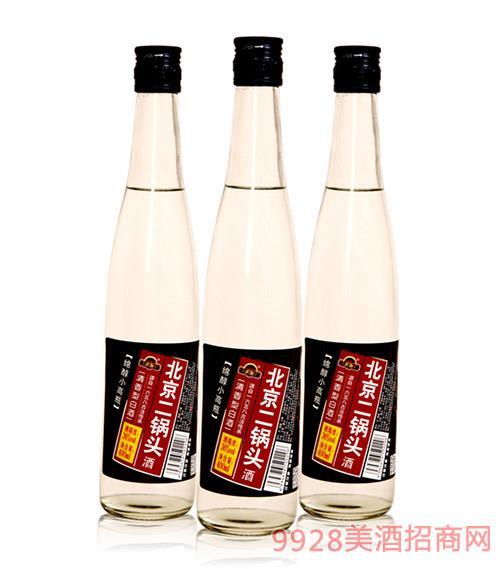 北京二��^酒�d柔小高瓶400ml