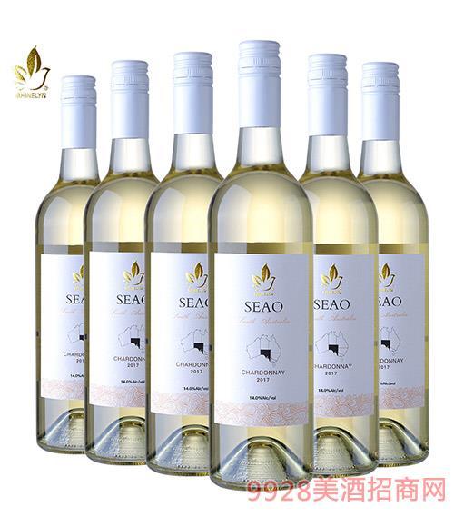 �奈�澳干白葡萄酒13度750ml