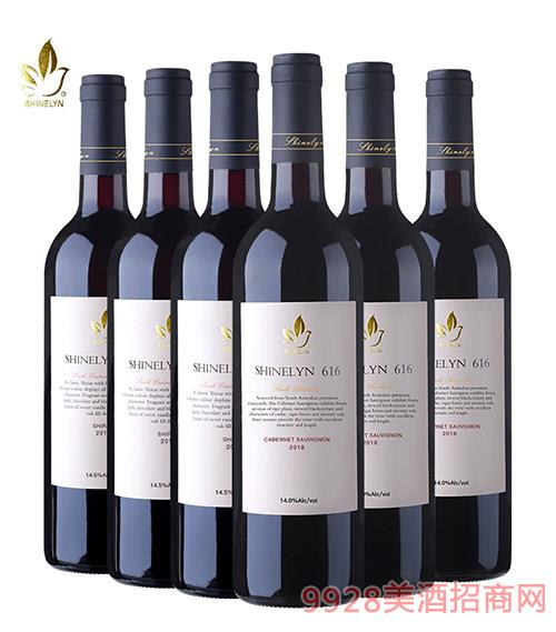 �奈616干�t葡萄酒14.1度750ml