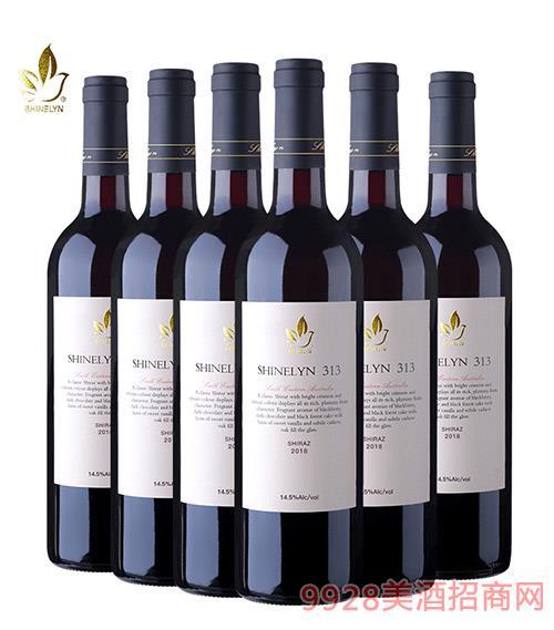 �奈313干�t葡萄酒14.4度750ml