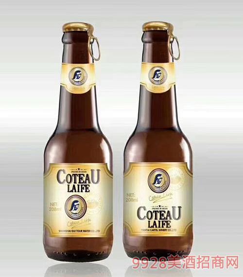 歌图人生原浆啤酒208ml