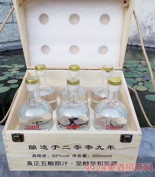 �原酒2009-62度500mlx6