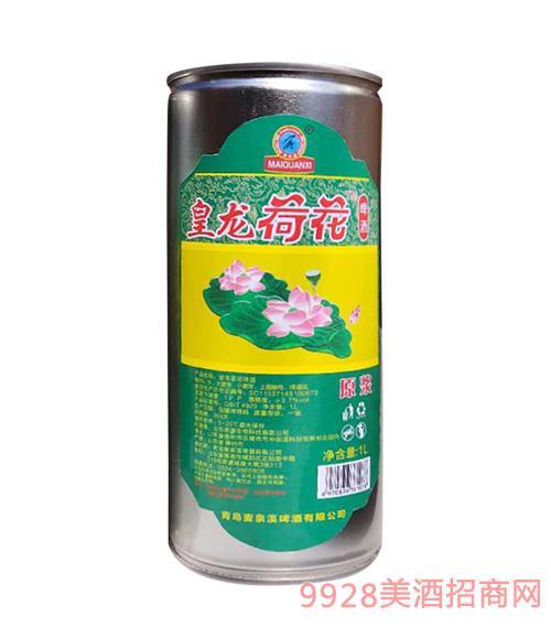 皇��荷花原�{啤酒1L